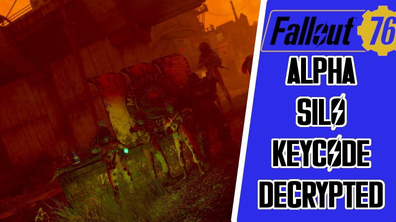 How to Launch A Nuke in Fallout 76 + DECRYPTED ALPHA CODE KEY