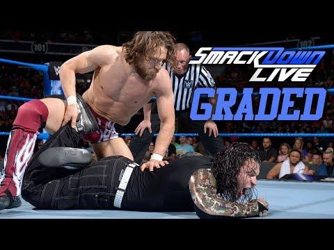 WWE Smackdown Live: GRADED (21 May)   Daniel Bryan vs. Jeff Hardy