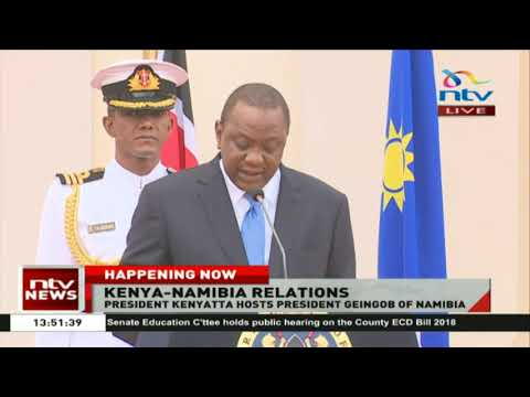 President Uhuru and Geingob to promote tourism, mining sectors