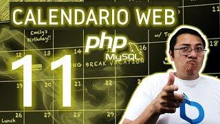 Calendario web con PHP y MySQL utilizando fullcalendar (Video 11 - Obtener información)