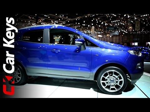 New Ford EcoSport sneak preview - Geneva Motor Show 2013