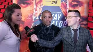Funny, deleted interview of Jose Aldo