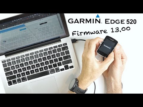 Garmin EDGE 520 Firmware Update V13.00: Details // Install How-To