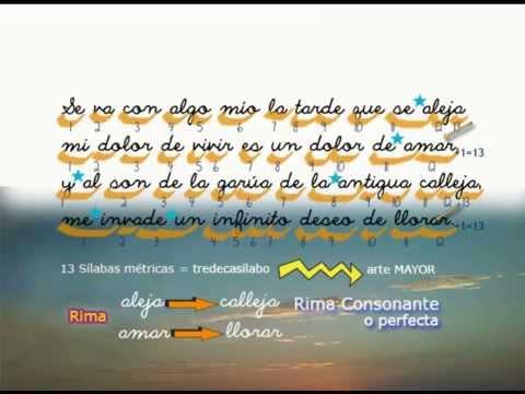 Análisis Métrica Rima De Un Poema