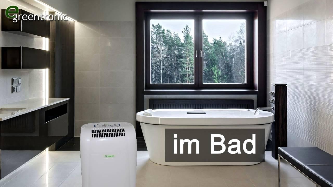 Luftentfeuchter / Luftentfeuchtungsgerät im Bad