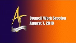 City of Apache Junction - City Council Meeting 8/07/18