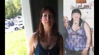 125lb weight loss transformation with the raw foods + vegan lifestyle.
