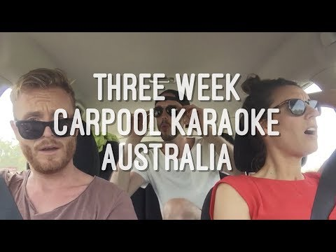 3WEEK Carpool Karaoke Australia - Together Again
