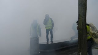 """""""Yellow vests"""" in Bordeaux clash with police"""