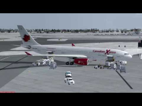 Airbus A330-200 Baltimore-Washington (KBWI) to Edmonton (CYEG) P3D v3.4