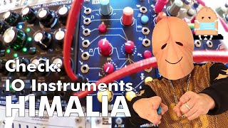 Penishead plays IO Instruments Himalia Penta Sound Source Module Eurorack Review - direct sound
