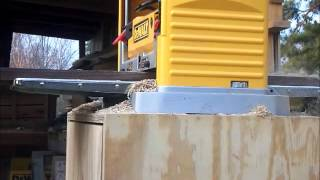 Dewalt Dw734 In Action