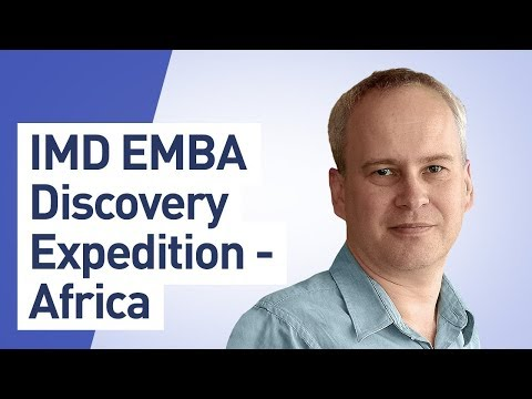 IMD EMBA Discovery Expedition – Africa