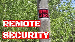 Off Grid Cabin Security : Keeping the Bad Guys Out