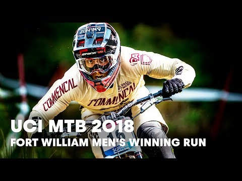 Who Won The Men's Downhill Final At Fort William?   UCI MTB 2018