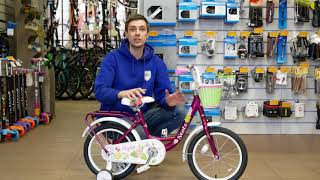 Обзор детского велосипеда Stels Flyte Lady 16 Z010 (2018)