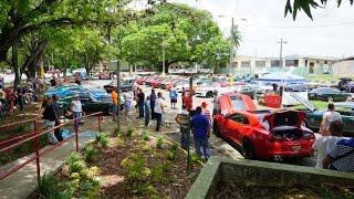 MUSCLE CARS EN CAGUAS   JUNIO 2016