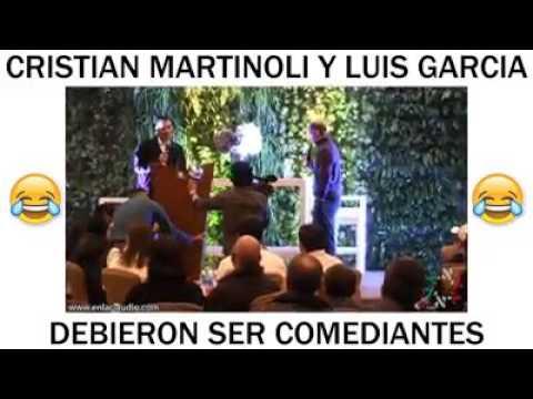 'Stand Up' Martinoli y Luis García