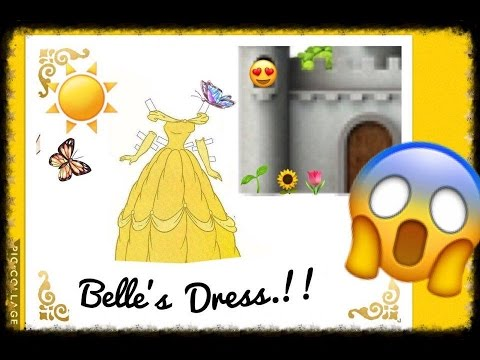Bell Disney Princess Beauty And The Beast Crochet Dress | TUTORIAL | Tejiendo Con Erica