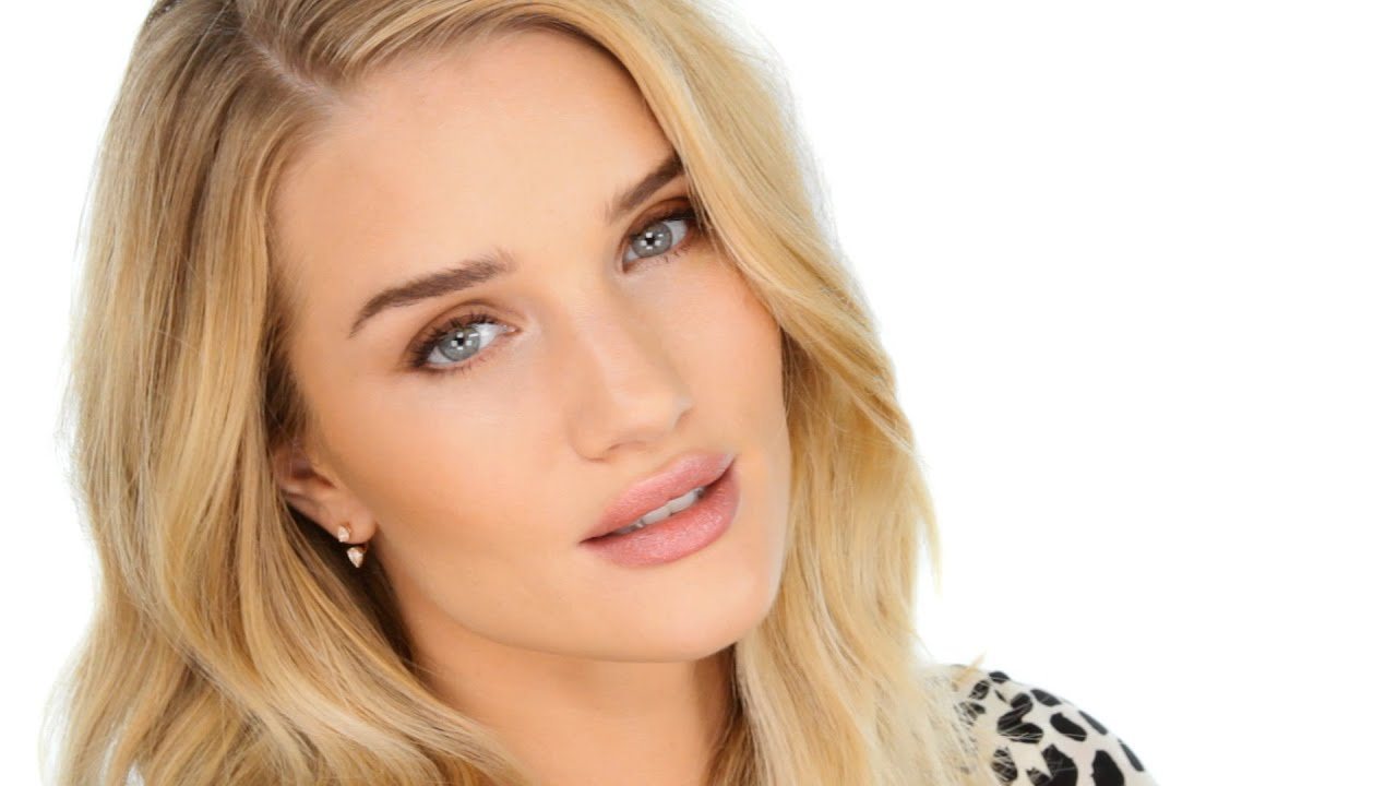 THE Rosie Huntington-Whiteley makeup tutorial - starring Rosie ... Rosie Huntington Whiteley