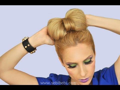 Minnie Mouse Saçı Fiyonk Topuz Minnie's Bow Bun
