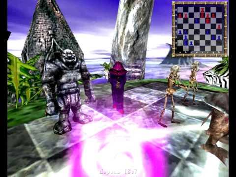 Wizard Chess / Шахматы в стиле фэнтези. (2003) PC