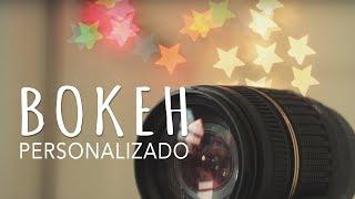 Dicas de Fotografia - DIY - BOKEH Personalizado