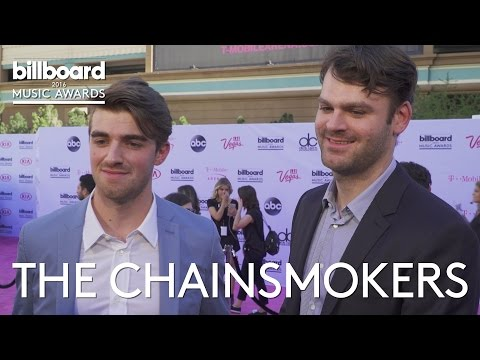 Chainsmokers At Billboard Music Awards 2016 Red Carpet