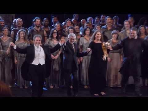 Curtain Call in Norma HD with Sondra Radvanovsky, Joyce DiDonato, Joseph Calleja 10.7.17