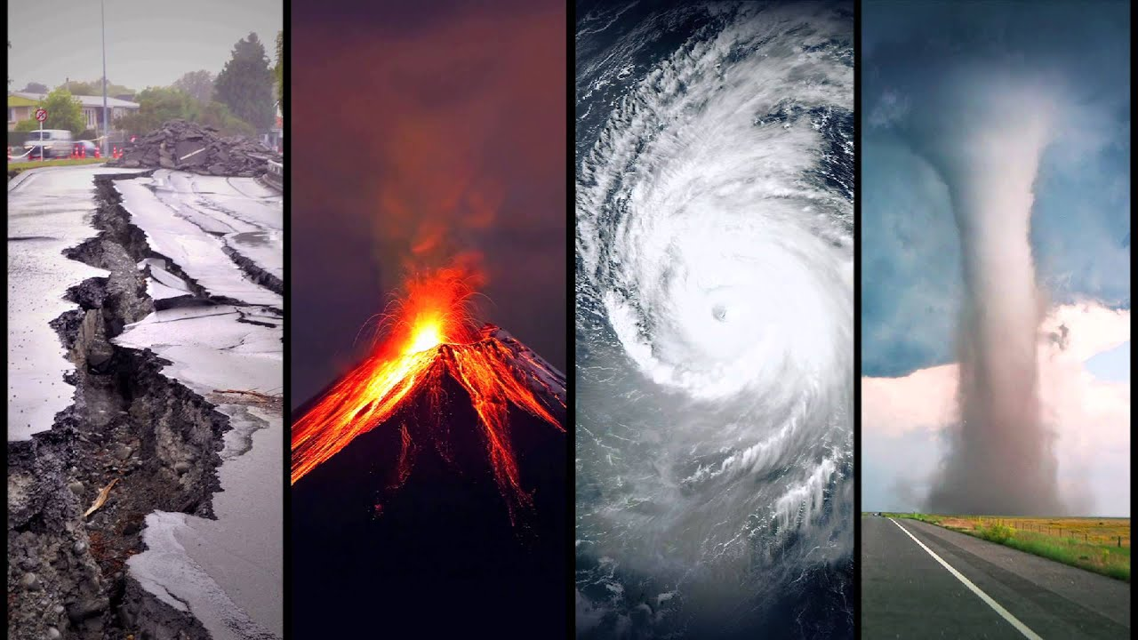 Earthquakes and Fires and Hurricanes... OH MY!