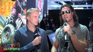 Smackdown Vs. Raw 2010: E32009 - THQ Booth Tour w/ John Morrison