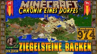 Minecraft #974-Chronik eines Dorfes- Ziegelsteinreihe backen [HD+Deutsch]