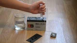 как восстановить свинцовый необслуживаемый аккумулятор