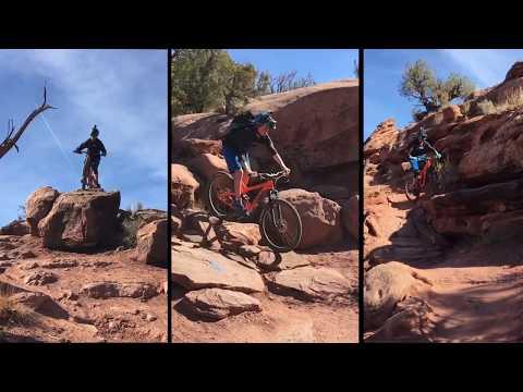 Captain Ahab - A Moab, Utah Mountain Biking Trail