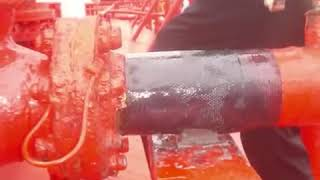Gas Pipe Repair on a Tanker using ENECON advanced polymers
