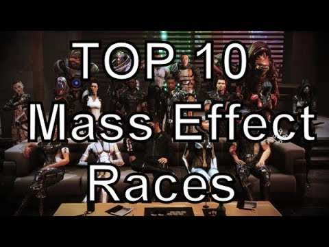 Top 10 Races In Mass Effect
