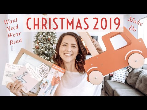 WHAT I GOT MY TODDLER FOR CHRISTMAS + Large Gift Ideas | Ashley Hunt