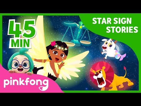 Goddess of Spring Virgo and more   Star Sign Story   +Compilation   Pinkfong Stories for Children