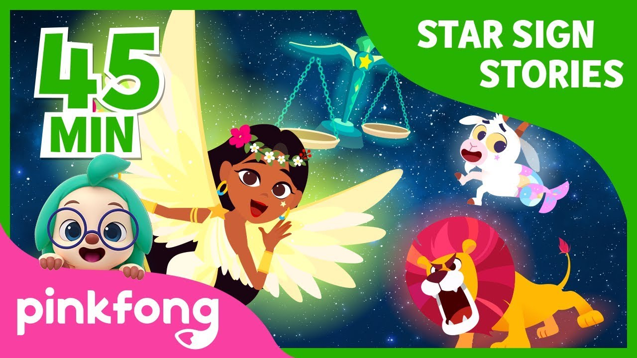 Goddess of Spring Virgo and more | Star Sign Story | +Compilation | Pinkfong Stories for Children