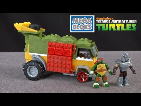 Teenage Mutant Ninja Turtles Party Wagon From MEGA Bloks