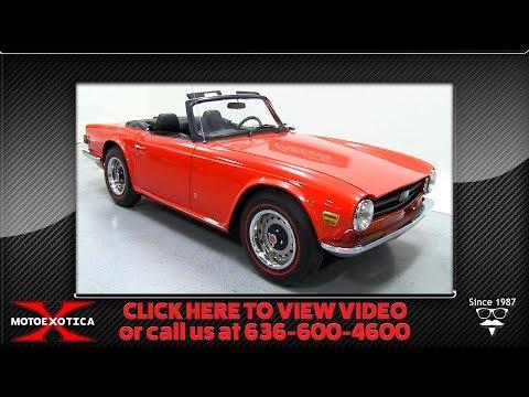 1972 Triumph TR6 (SOLD)
