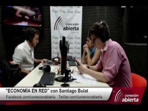 """""""Economía en red"""" con SANTIAGO BULAT 26-01-17 / Radio Conexión Abierta"""