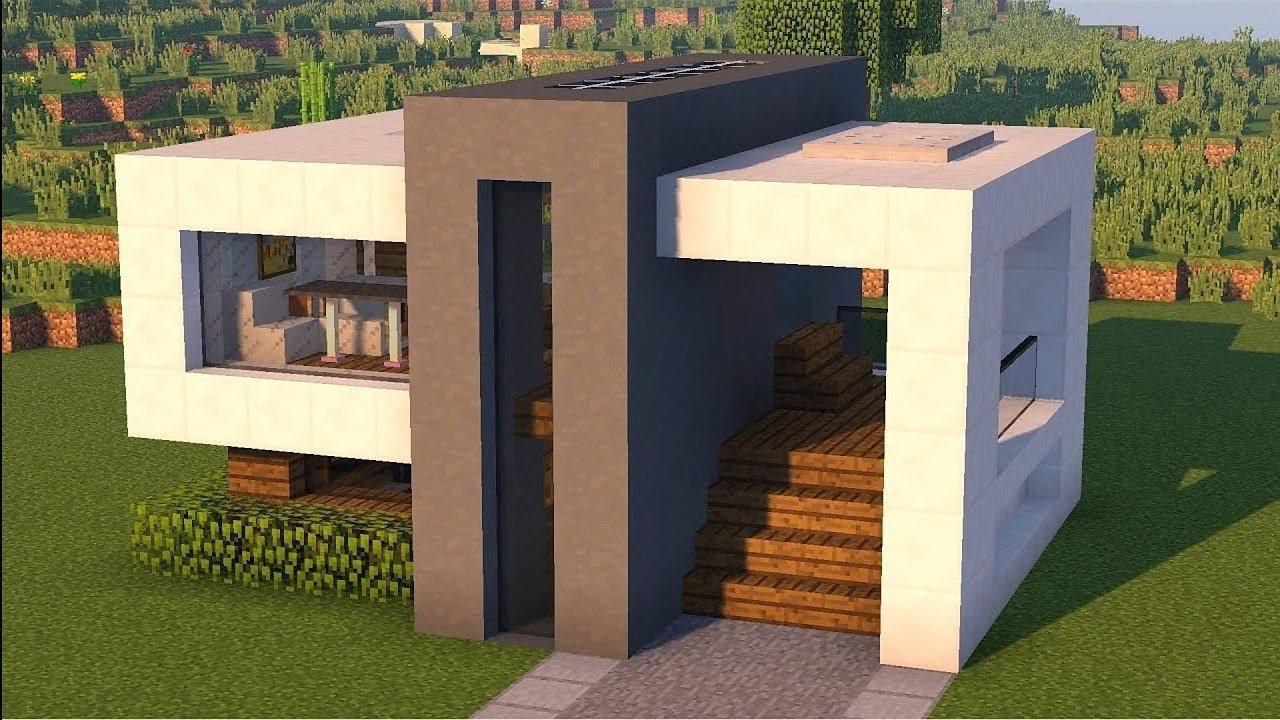 Картинки дома в стиле хай тек майнкрафт