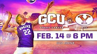 GCU Men's Volleyball vs BYU February 14, 2020
