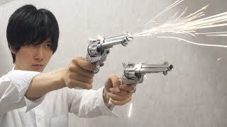 【Part3】モデルガンのコルトSAAを撃ちまくる!!!