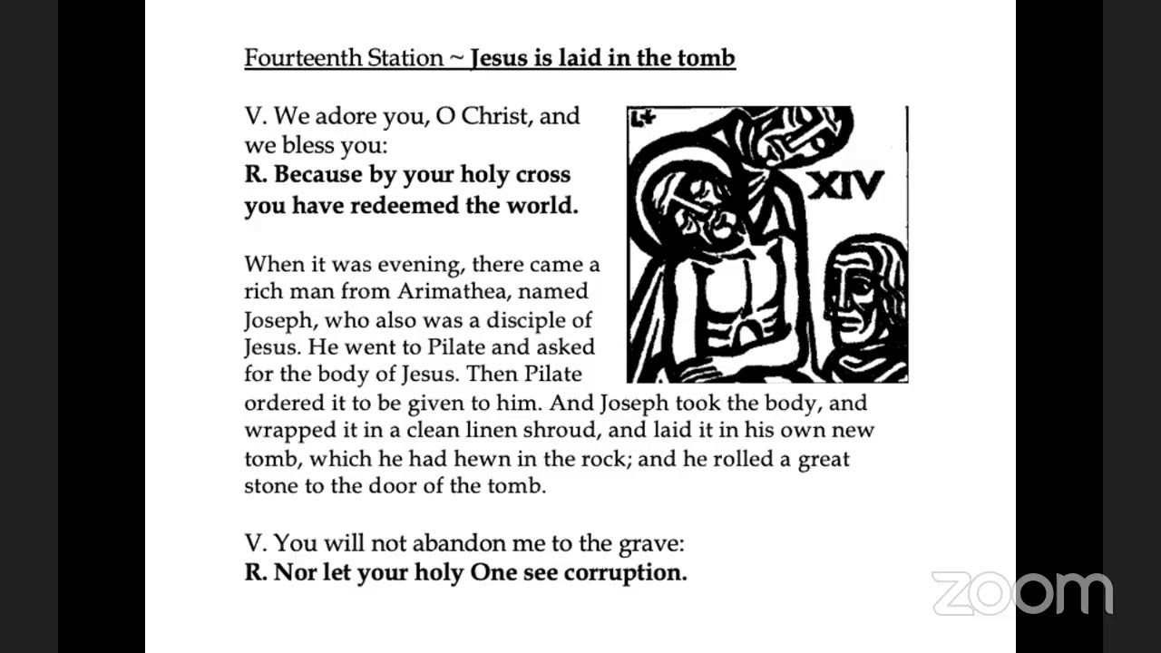 Stations of the Cross - 4/10/20
