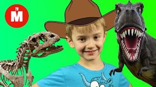 Про динозавров для детей РАСКОПКИ ДИНОЗАВРА Про динозавров - Тирекс ВИДЕО ДЛЯ ДЕТЕЙ(Видео про динозавров - ТИРЕКС. Тираннозавр - самый опасный и кровожадный динозавр! Игрушка динозавры - прекр..., 2016-05-20T13:53:46.000Z)