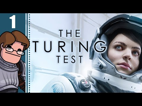 Let's Play The Turing Test Part 1 - Chapter 1: Europa Loading Bay (PC Gameplay)