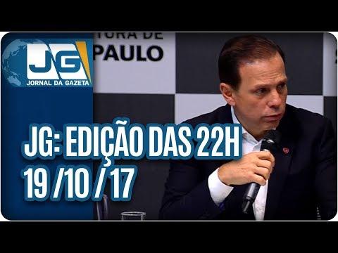 Jornal da Gazeta - Edição das 10 - 19/10/2017