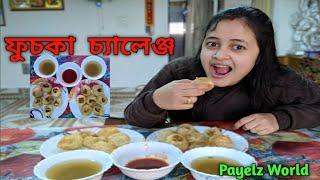 Eating Puchka (Panipuri) (Golgappa) Challenge